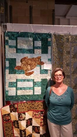 Quilt maker (turtle) - Deb Rigney