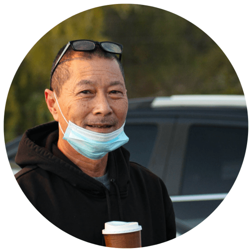 Platte County, Missouri: Resident Jimmy Wong, a Trump supporter, said he was excited to see the hundreds of people waiting to cast their ballots at the Heartland Church of Christ.