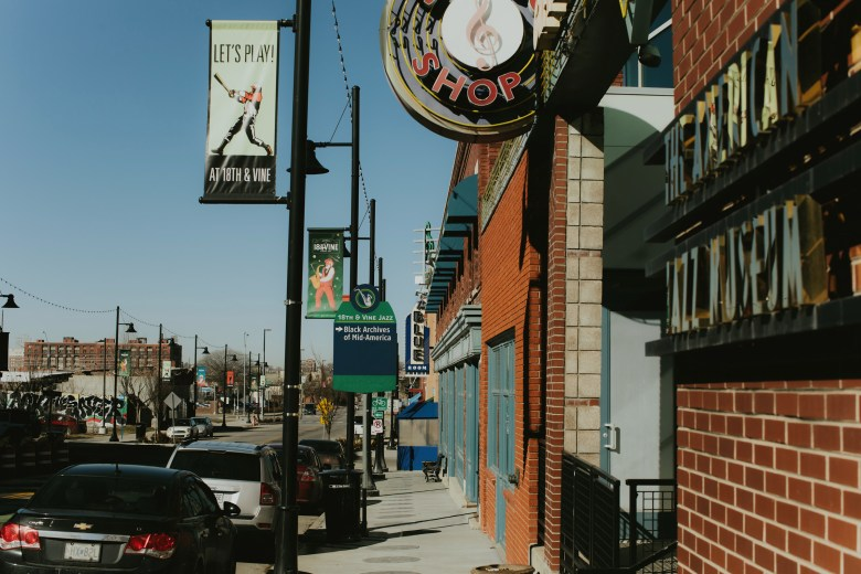 Kansas City's 18th & Vine District, famous for its jazz. Chase Castor/The Beacon