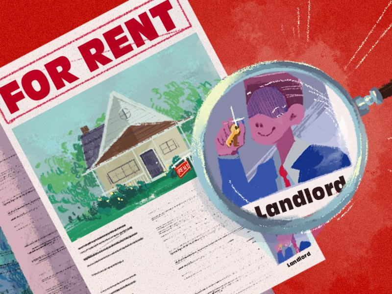 A graphic image for tenant rights in Kansas City.