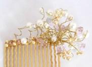 Handmade Cluster Hair Slide