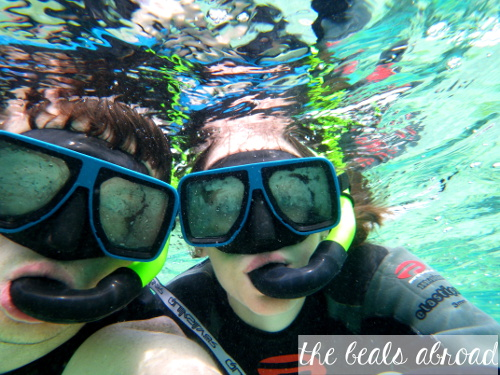 [The Beals Abroad] Snorkelling in Moorea, French Polynesia