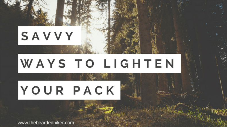 Reduce Your Pack Weight