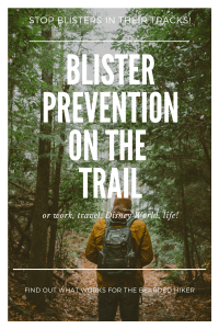 Blister Prevention on the Trail