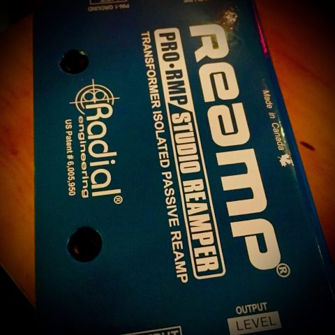 radial reamp box