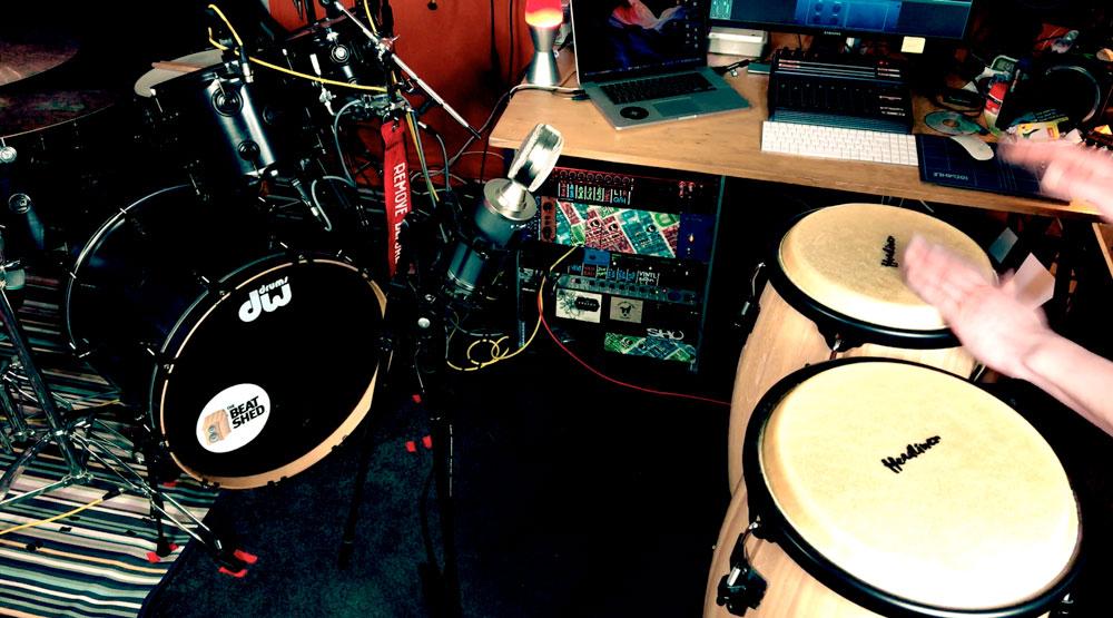 online drummer