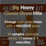 Heavy Rock Drum Samples