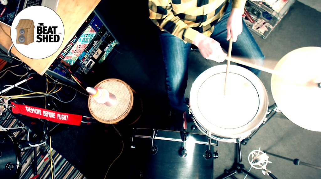linear drum groove