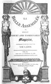 Title page from La Belle Assemblée or, Bell's ...