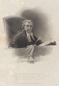 William Scott 1st Earl of Stowell 1745- 1836