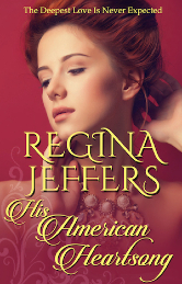 Cover image for Regina Jeffers' His American Heartsong