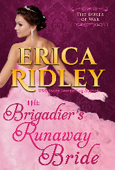 Cover image for Erica Ridley's The Brigadier's Runaway Bride