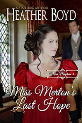 Cover image for Heather Boyd's Miss Merton's Last
