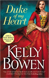 Cover image for Kelly Bowen's Duke of My Heart