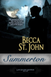 Cover image for SUMMERTON by Becca St. John