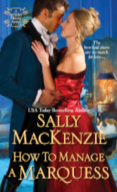 Cover image for HOW TO MANAGE A MARQUESS by Sally MacKenzie