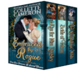 Cover image for EMBRACED BY A ROGUE by Collette Cameron