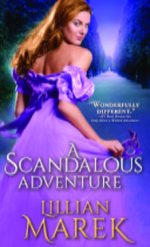 Cover image for A SCANDALOUS ADVENTURE by Lillian Marek