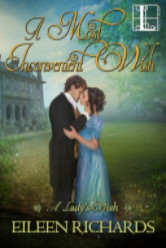 Cover image for A MOST INCONVENIENT WISH by Eileen Richards