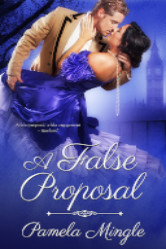 Cover image for A FALSE PROPOSAL by Pamela Mingle