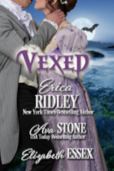 Cover image for VEXED The Haunting of Castle Keyvnor by Erica Ridley, Ava Stone, and Elizabeth Essex