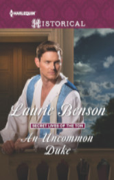 Cover image for AN UNCOMMON DUKE by Laurie Benson