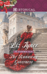 Cover image for The Runaway Governess by Liz Tyner