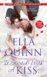 Cover image for IT STARTED WITH A KISS by Ella Quinn