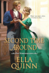 Cover image for THE SECOND TIME AROUND by Ella Quinn