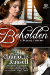 Cover image for Beholden by Charlotte Russell