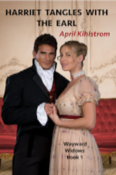 Cover image for Harriet Tangles With The Earl by April Kihlstrom