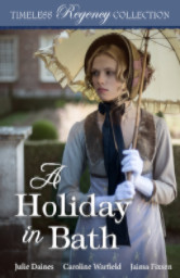 Cover image for Holiday in Bath by Caroline Warfield