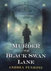 Cover image for Murder on Black Swan Lane by Andrea Penrose