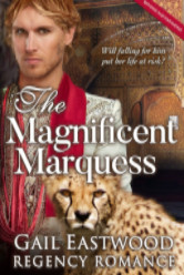 Cover image for The Magnificent Marquess by Gail Eastwood