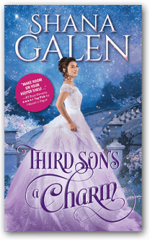 Cover image for THIRD SON'S A CHARM by Shana Galen.