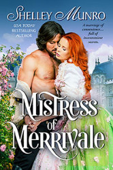 Cover image for MISTRESS OF MERRIVALE by Shelley Munro