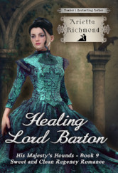 Cover image for Healing Lord Barton by Arietta Richmond