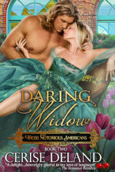 Cover image for Daring Widow by Cerise DeLand