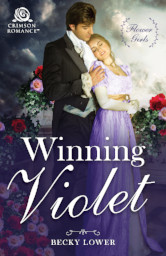 Cover image for Winning Violet by Becky Lower