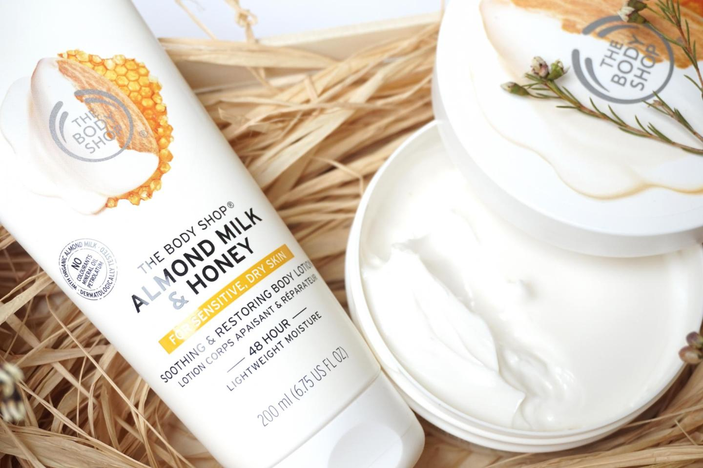 The Body Shop, Almond Milk & Honey Body Lotion and Butter