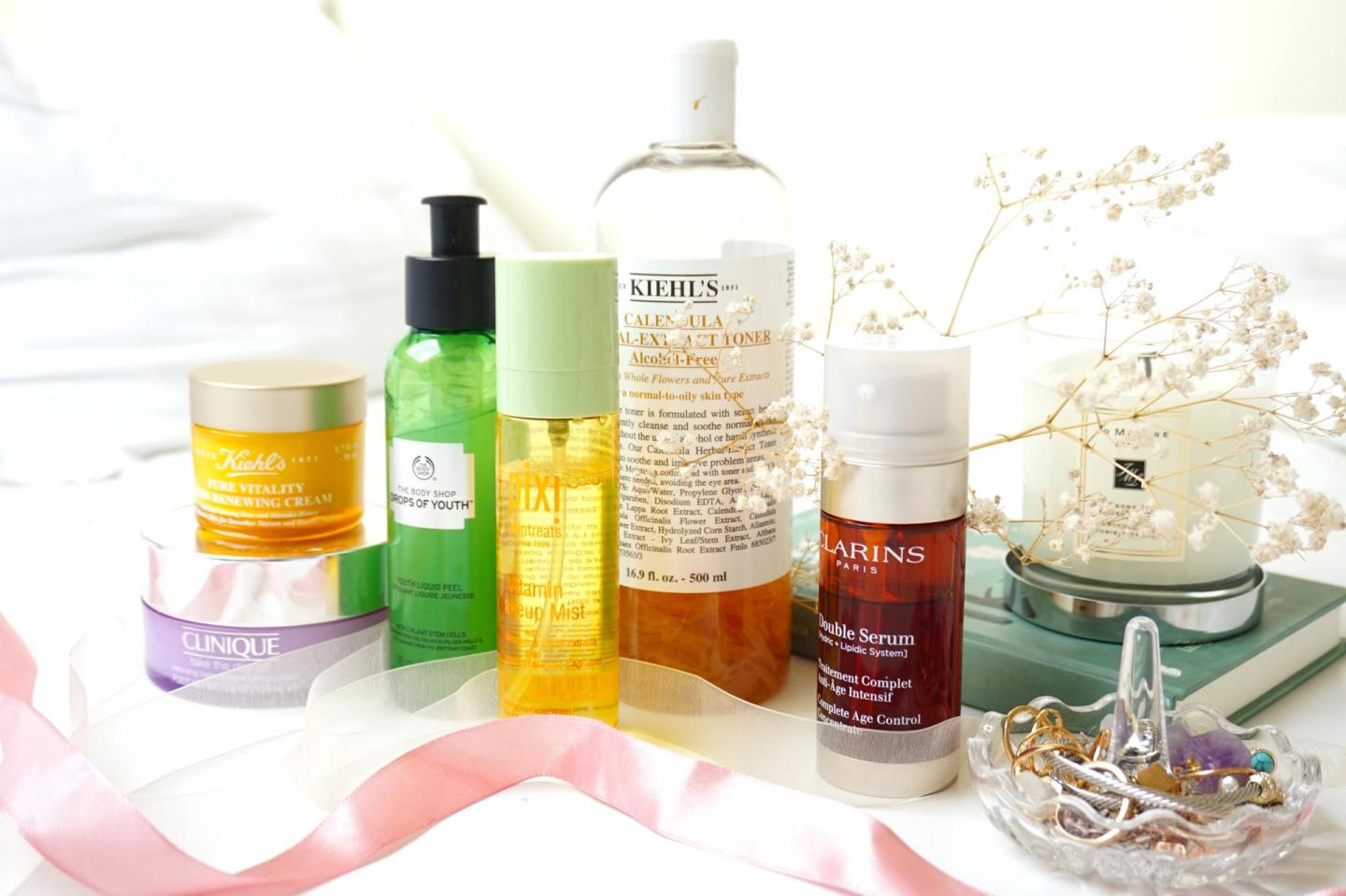 Skincare items that makes my skin happy