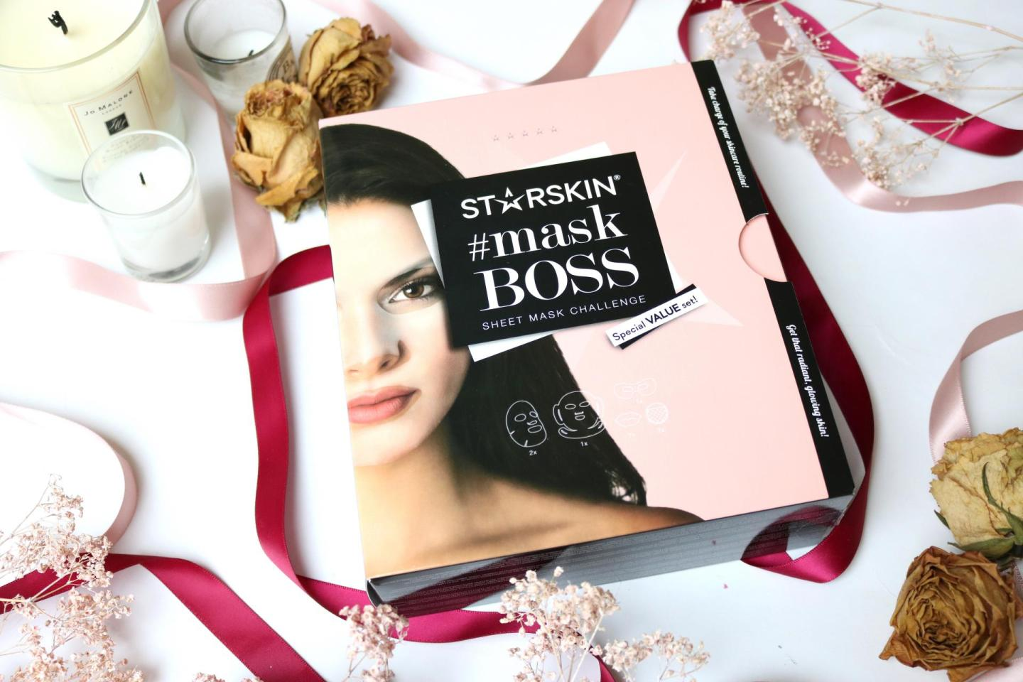 The #MaskBoss challenge with STARSKIN