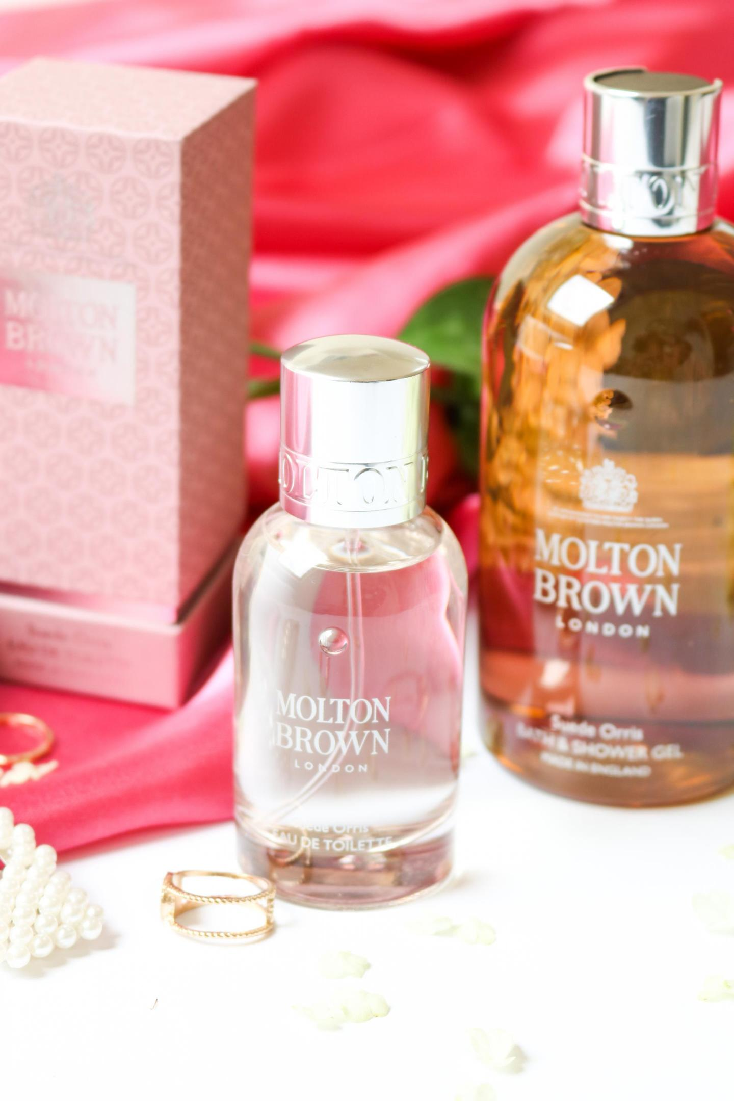 Molton Brown newest Suede Orris line
