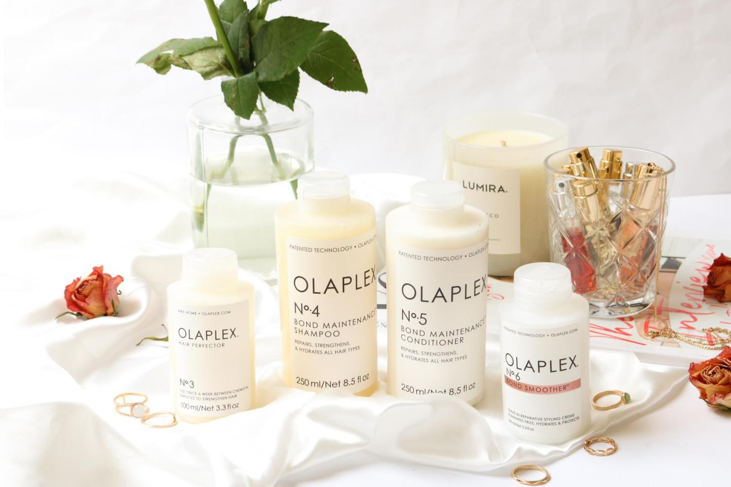 All the Olaplex products together