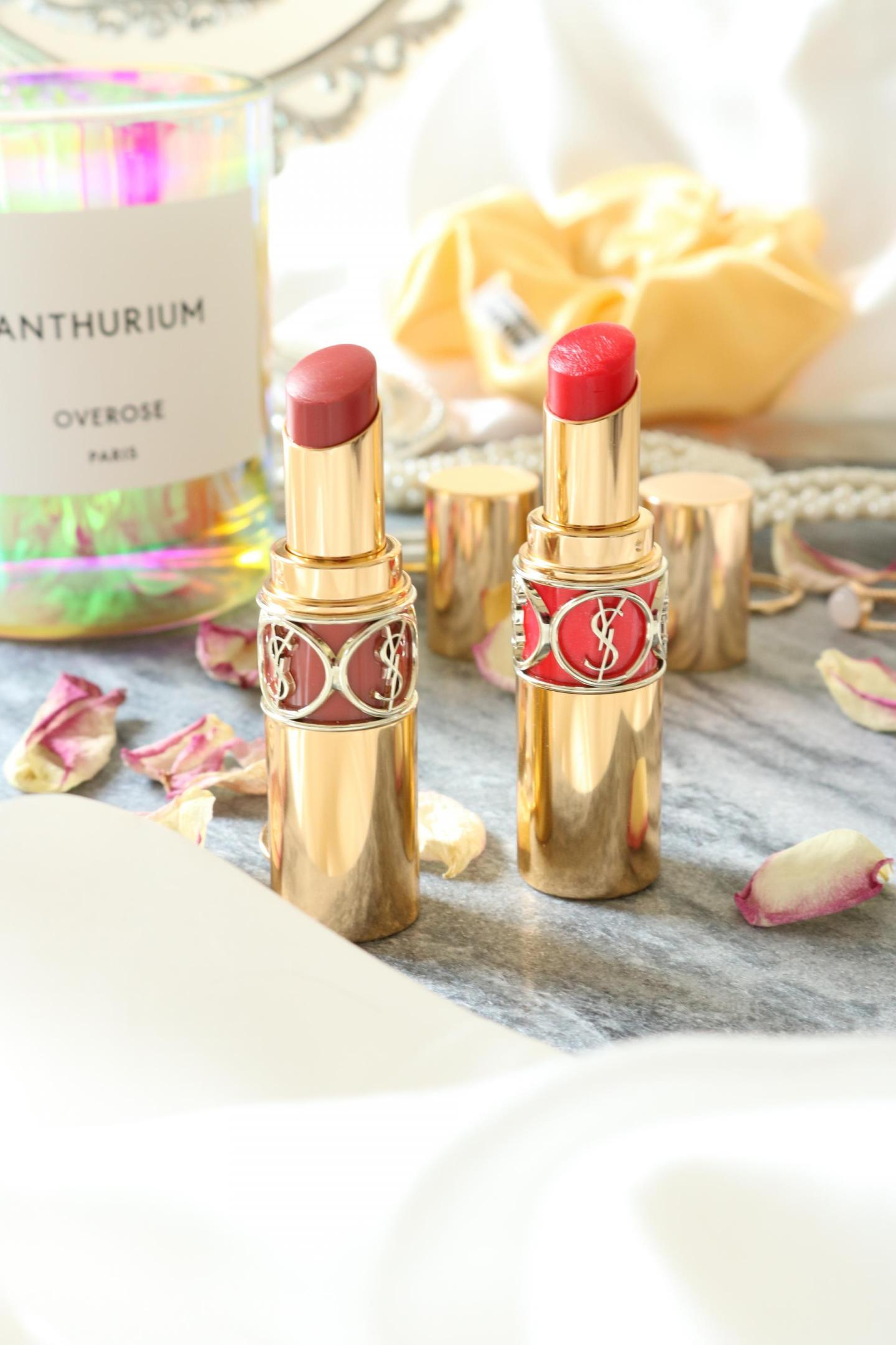 Pretty packaging of Rouge Voluptés Shine Oil-in-Stick