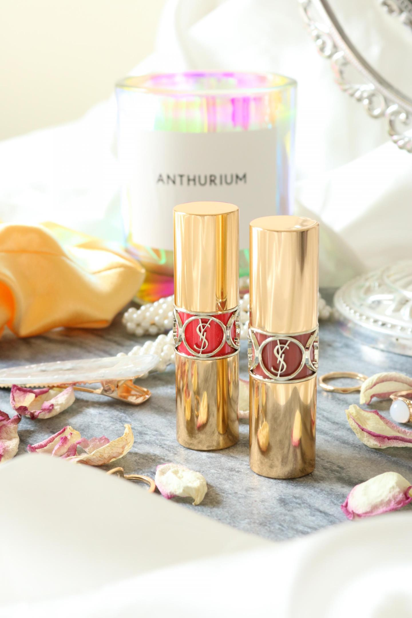 New Rouge Voluptés Shine Oil-in-Stick by Yves Saint Laurent
