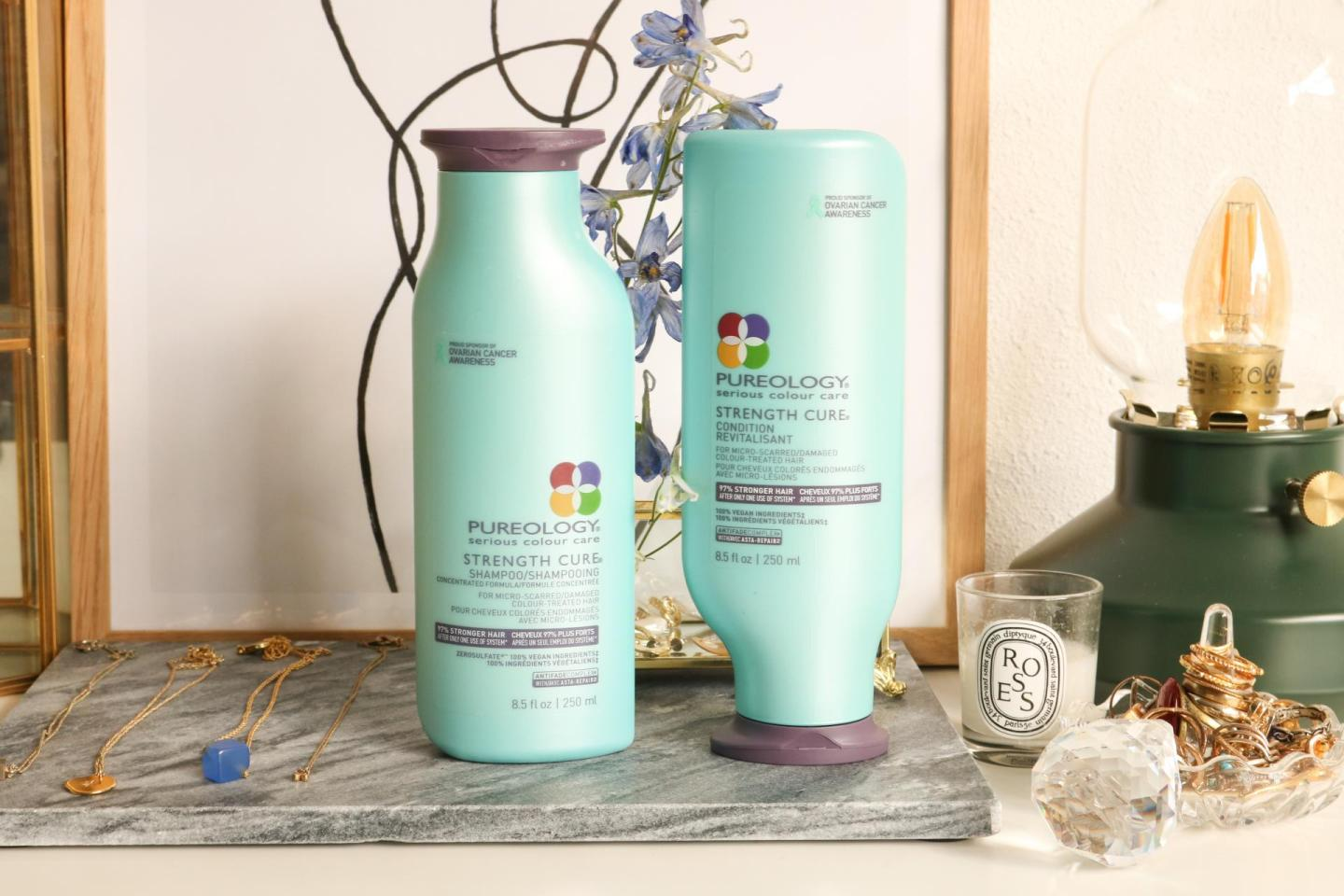Pureology Strength Cure Shampoo and Condition