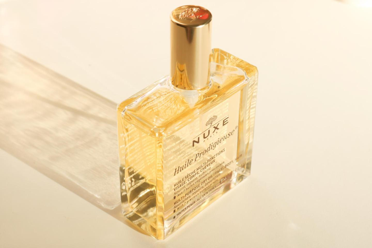 Dry skin or hair? Nuxe Huile Prodigieuse!