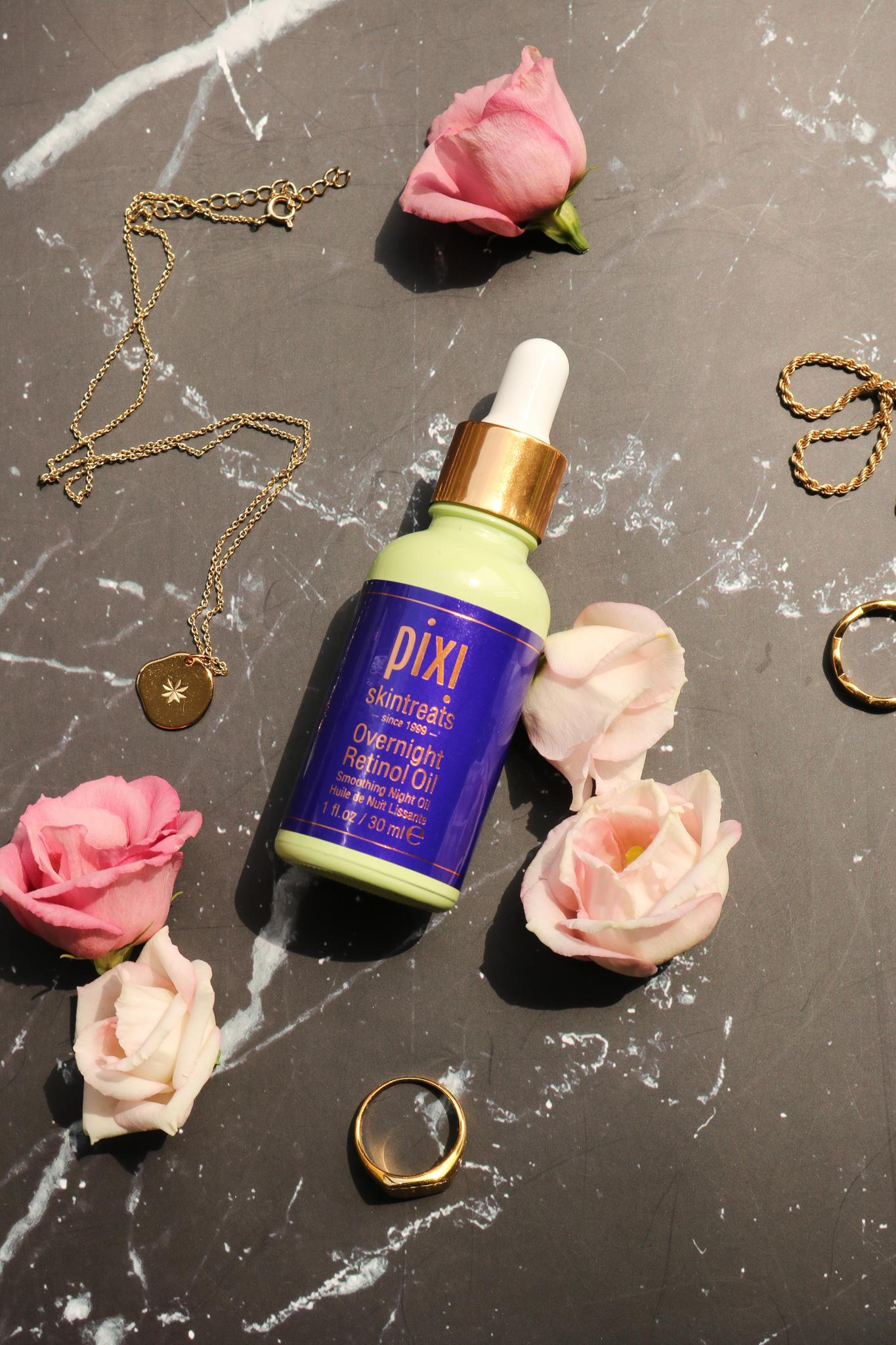 pixi beauty overnight retinol oil