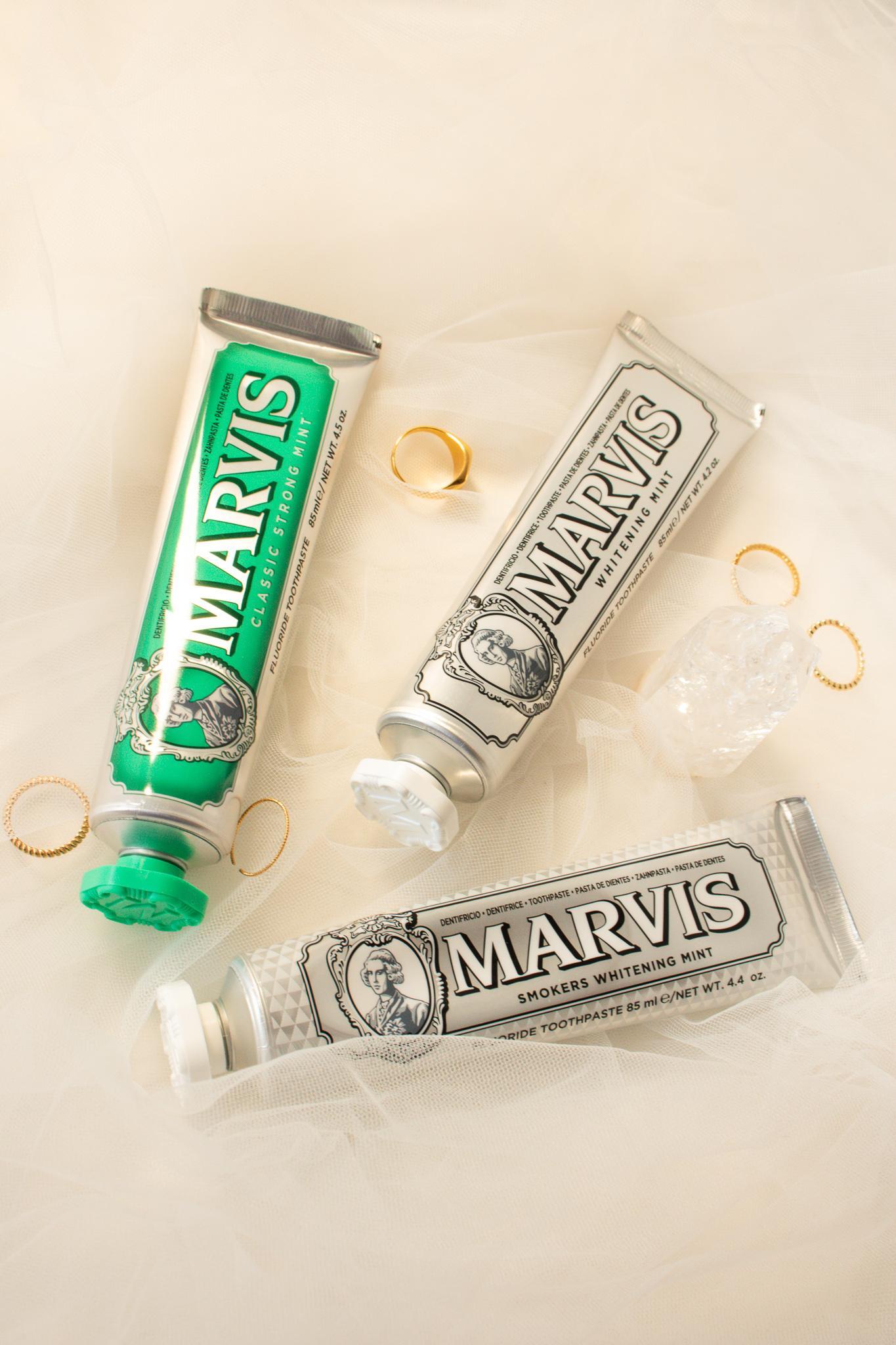 marvis tandpasta's